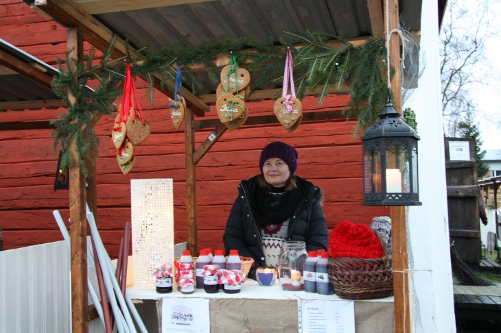 Christmas Market in Oulunsalo 2012
