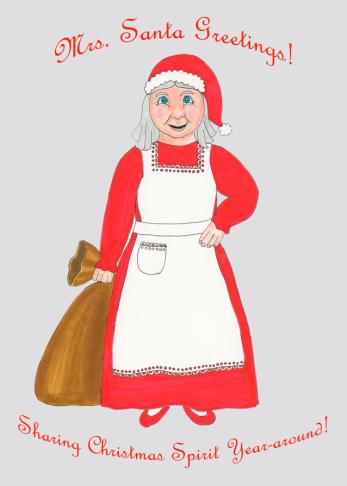 Mrs. Santa Greetings